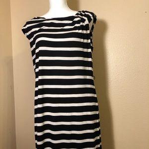 Calvin Klein Stripped Shirt Dress